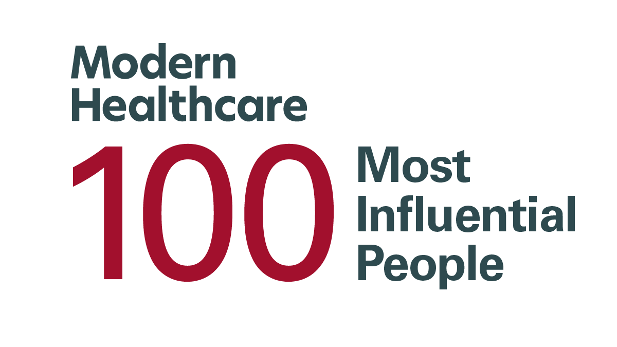 100 Most Influential People in Healthcare Logo