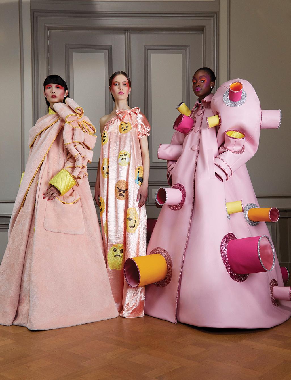 Viktor Rolf Offer Covid Inspired Fashion