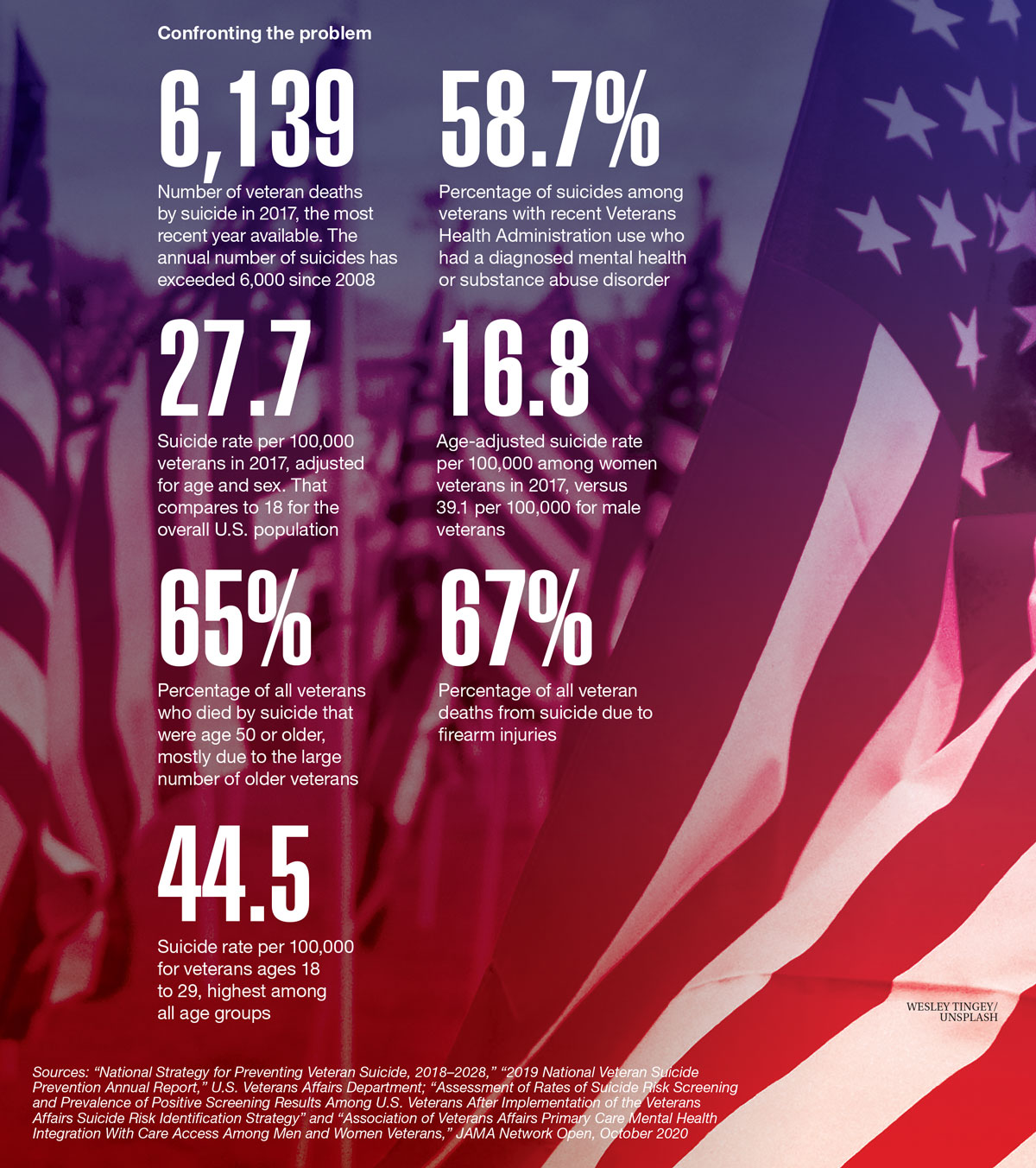 Data Points: A continuing crisis for veterans