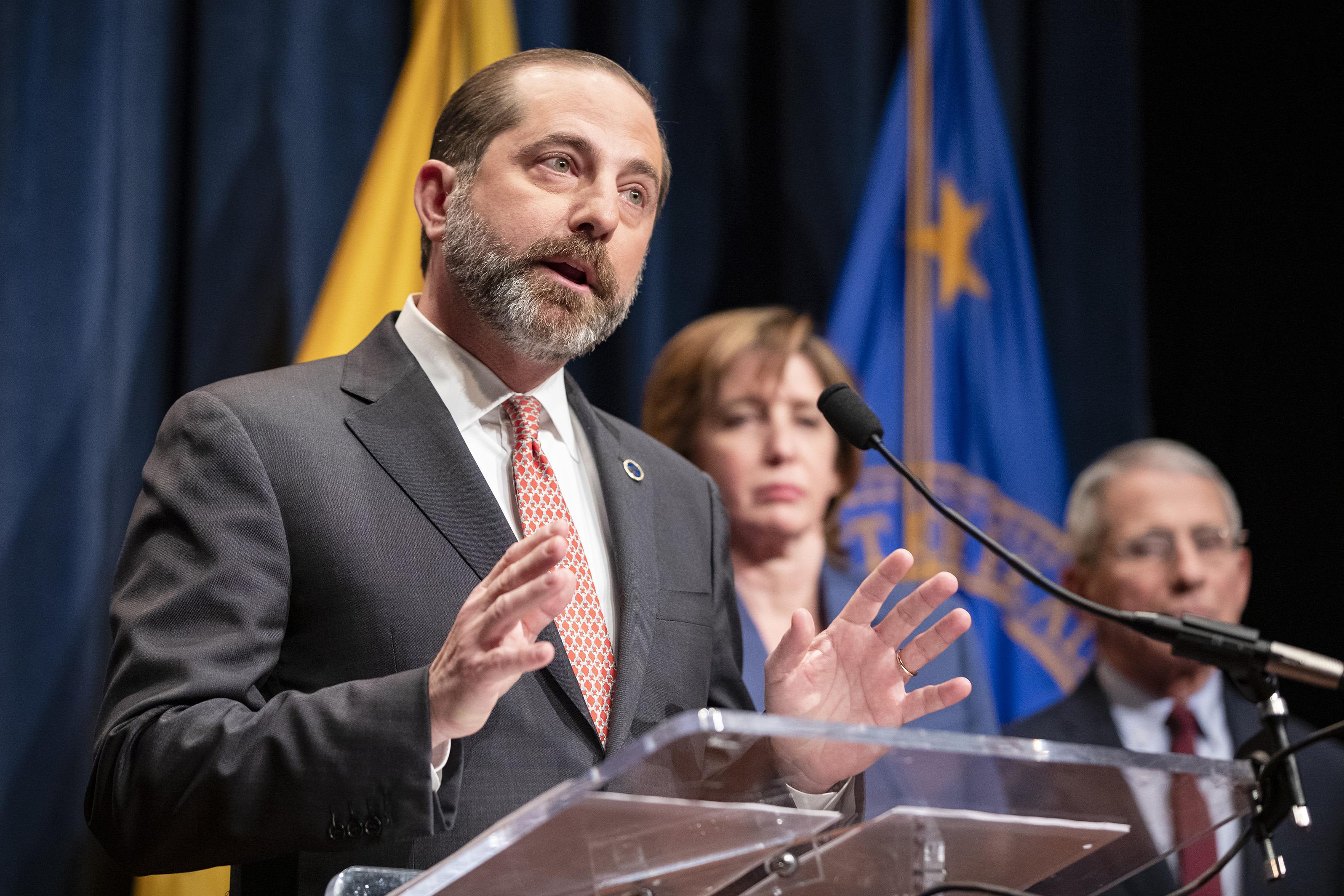 Senate Democrats Blast Azar Over Affordable Care Act Lawsuit