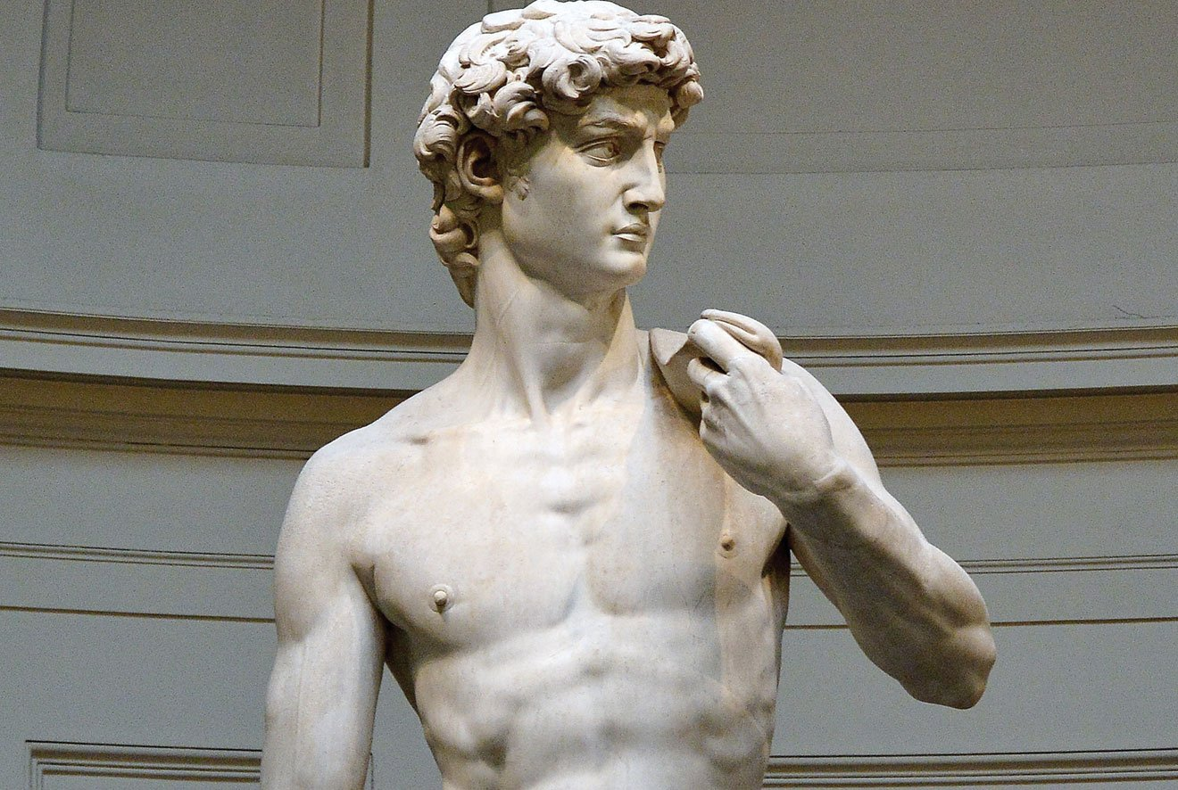 Is Michelangelo's 'David' really perfection personified?