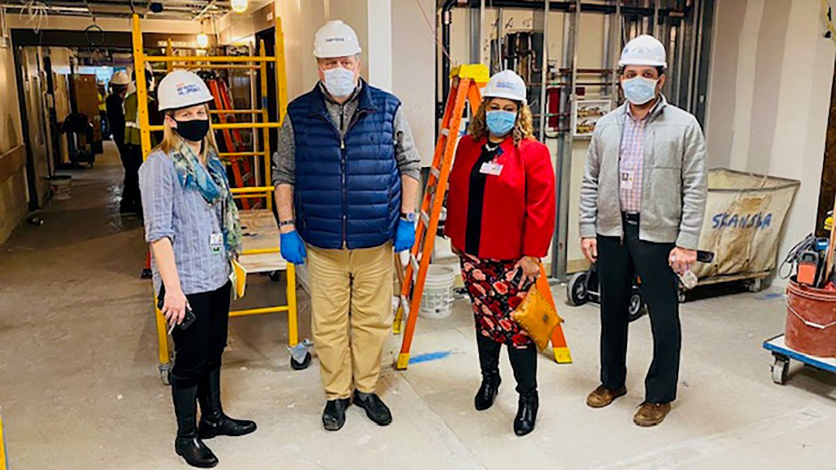 Hospital facilities team is the 'unsung hero' of the pandemic