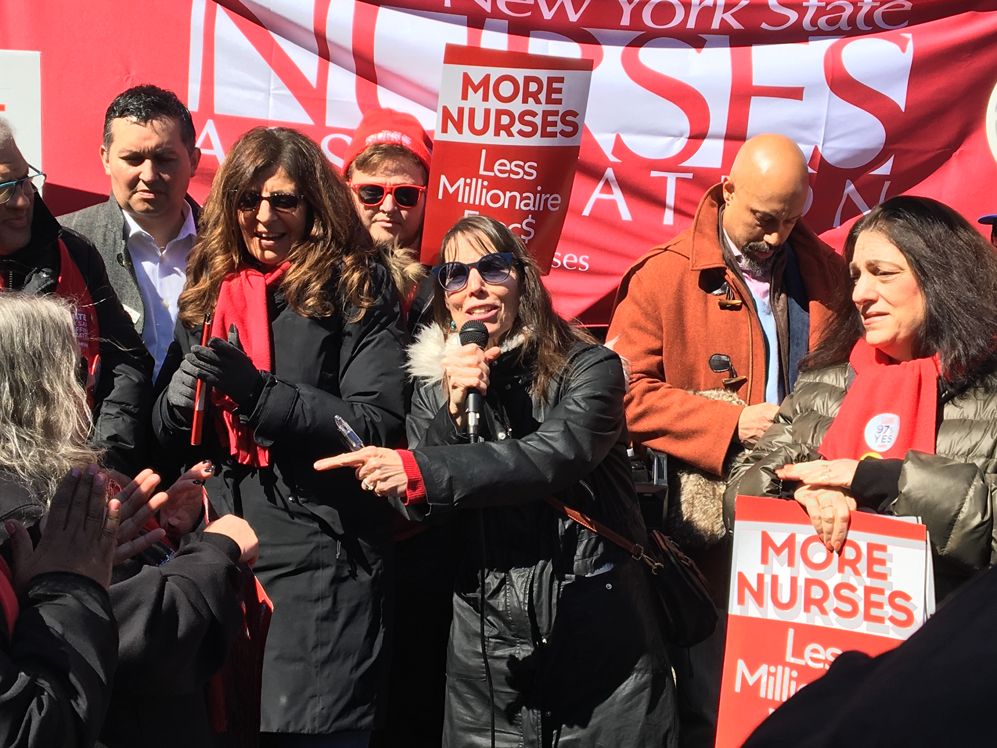 N Y  nurses union gives 10-day strike notice to major health systems