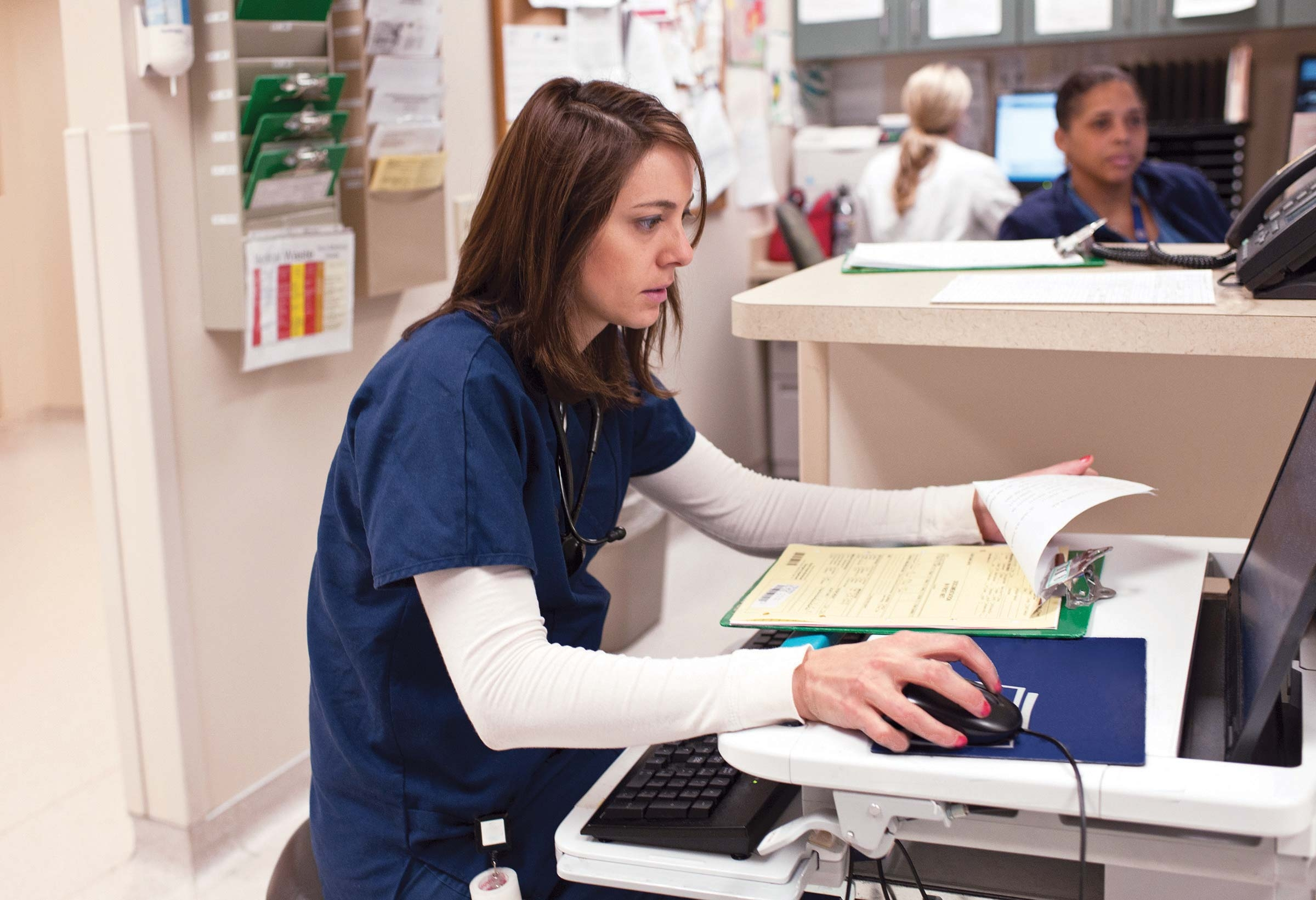 Electronic records in the ER: A breeding ground for error
