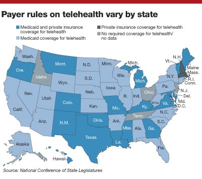 State boards' policy for telemedicine may present roadblocks