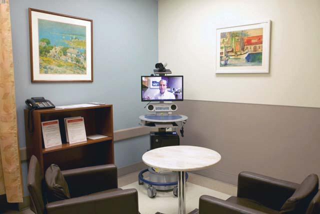 Telehealth in the emergency room