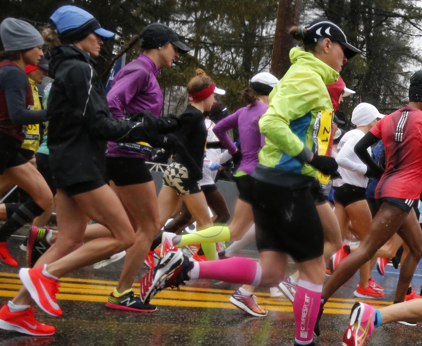 Arizona nurse stuns running world at Boston Marathon