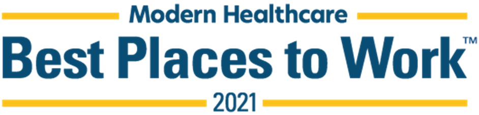 Best Places to Work in Healthcare 2021 logo