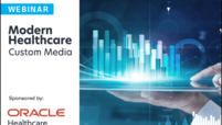 oracle webinar graphic modern healthcare custom media