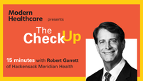 The Check Up: Robert Garrett
