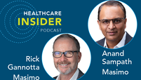 healthcare insider podcast masimo rick gannotta anand sampath