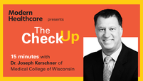 The Check Up: Dr. Joseph Kerschner