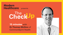 The Check Up: Dr. Thomas McGinn