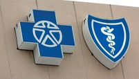 Blue Cross Blue Shield sign