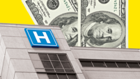Hospital with money