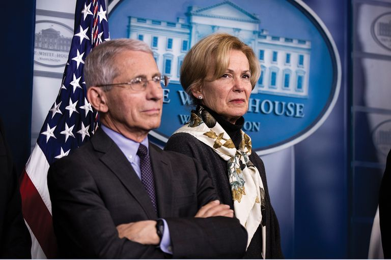 Drs. Deborah Birx and Anthony Fauci