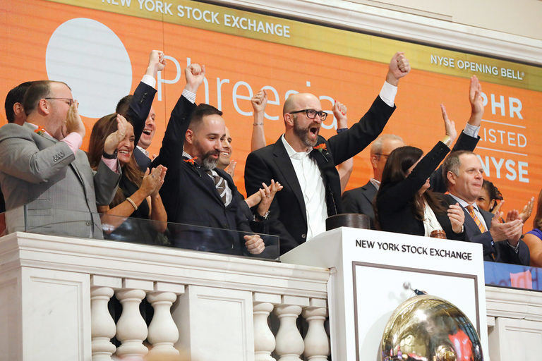 Phreesia on the New York Stock Exchange
