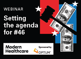 Webinar: Setting the agenda for #46. Sponsored by Optum.