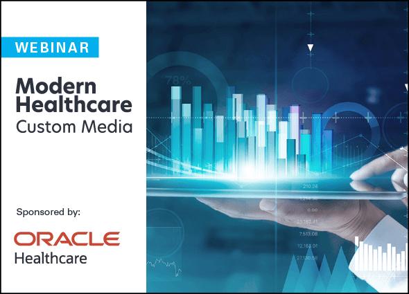oracle webinar graphic modern healthcare custom media