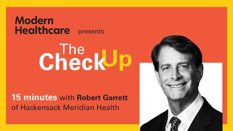 The Check Up: Robert Garrett