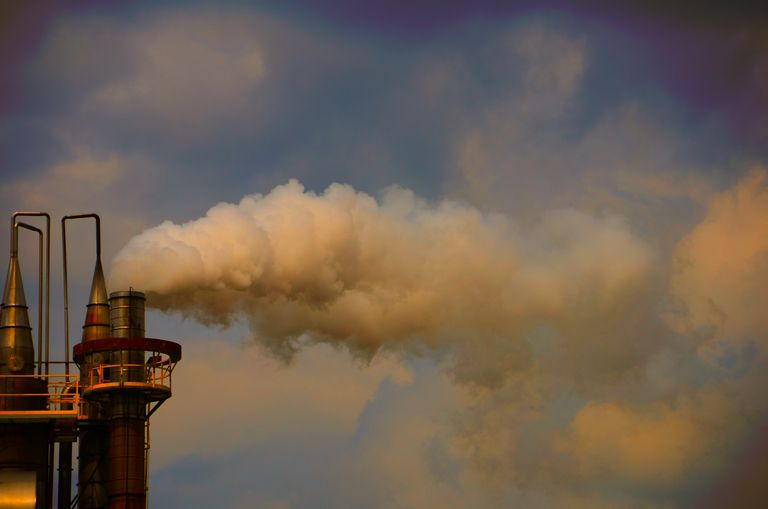 Industry accounts for 8% of greenhouse gases in recent data