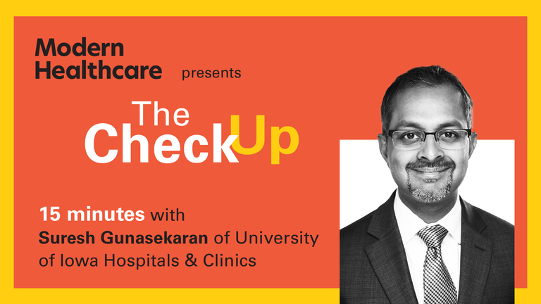 The Check Up: Suresh Gunasekaran
