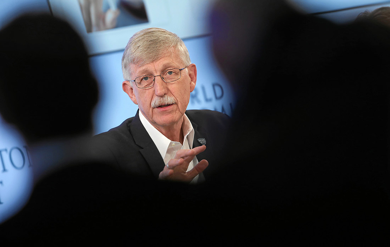 Blog: NIH director says political discord threatens research funding