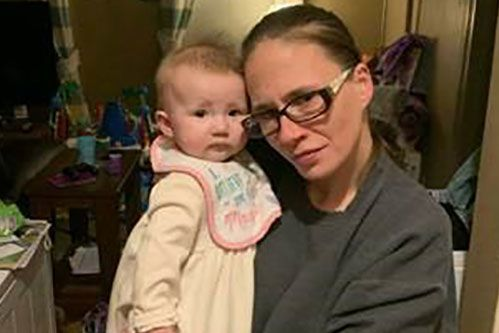 Jennifer Pannone and her daughter Victoria.