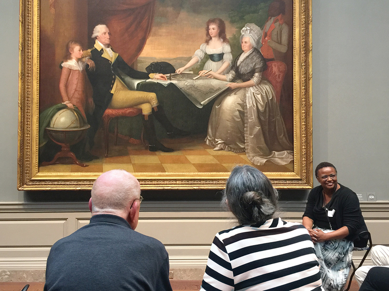 Artful meditation at the National Gallery of Art helps memory loss patients connect with their past