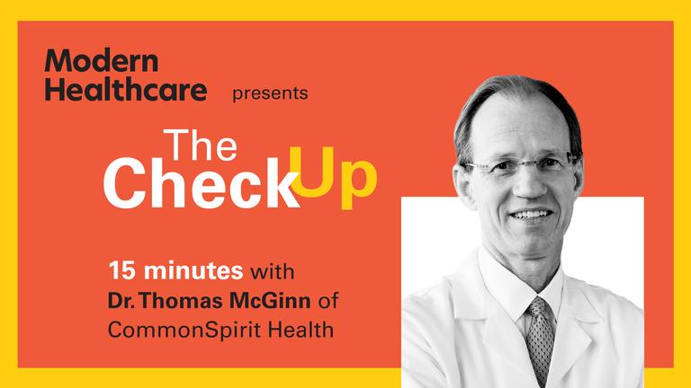 The Check Up: Dr. Thomas McGinn
