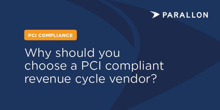 parallon stock image pci compliant vendor