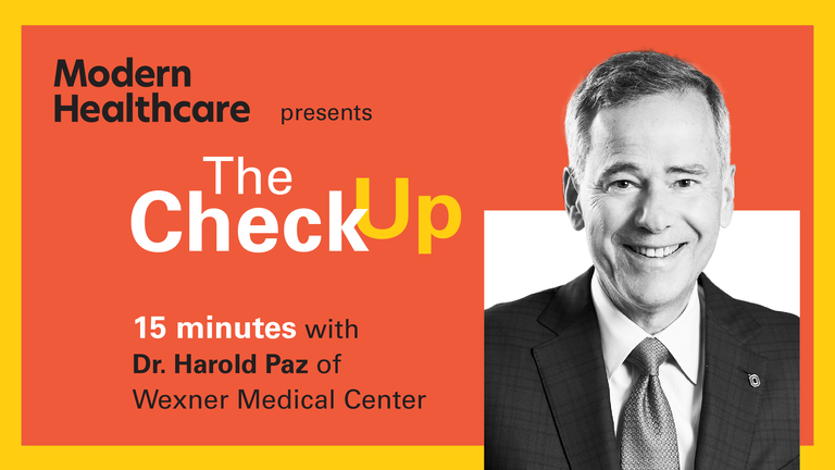 The Check Up: Dr. Harold Paz