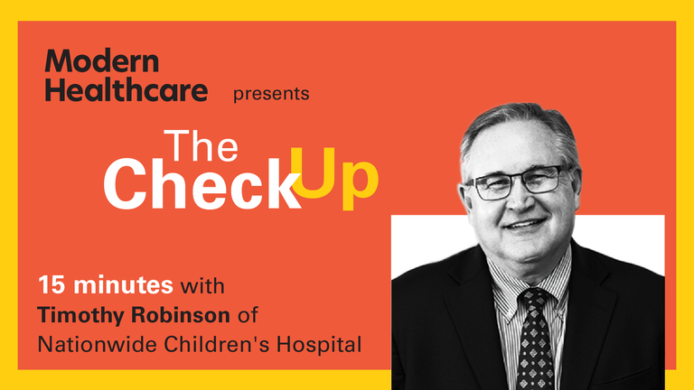 The Check Up: Timothy Robinson
