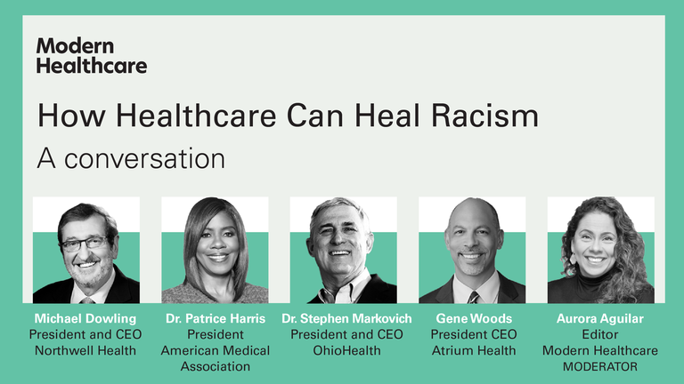 How healthcare can heal racism