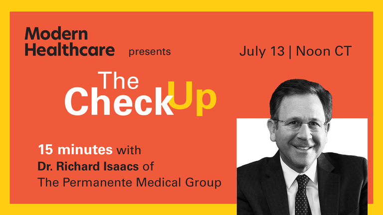 The Check Up: Dr. Richard Isaacs