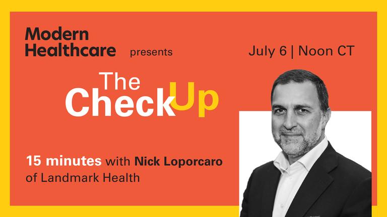 The Check Up: Nick Loporcaro of Landmark Health
