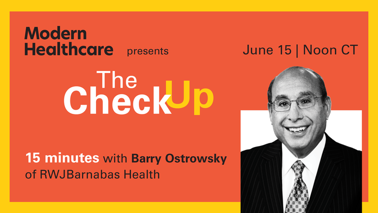 The Check Up: Barry Ostrowsky