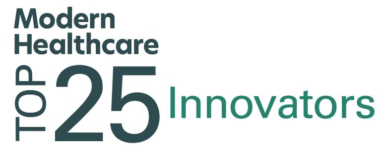 Modern Healthcare Top 25 Innovators Listing Image Logo