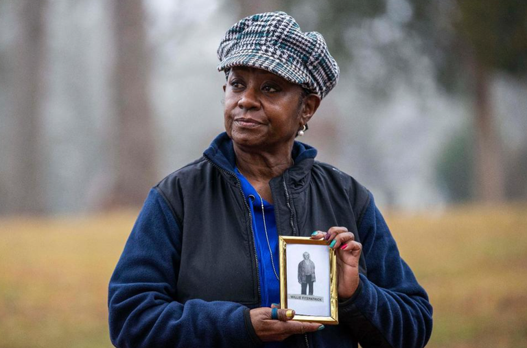 Great-granddaughter of Tuskegee study victim gets vaccine