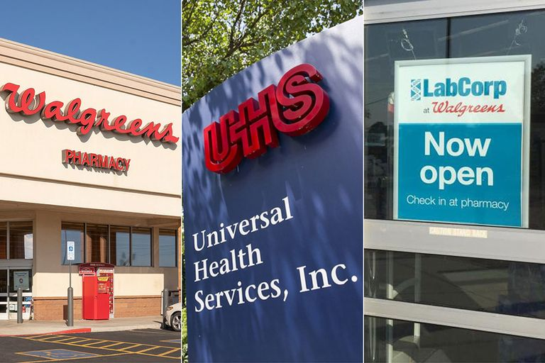 UHS, Walgreens, Labcorp called out for low wages