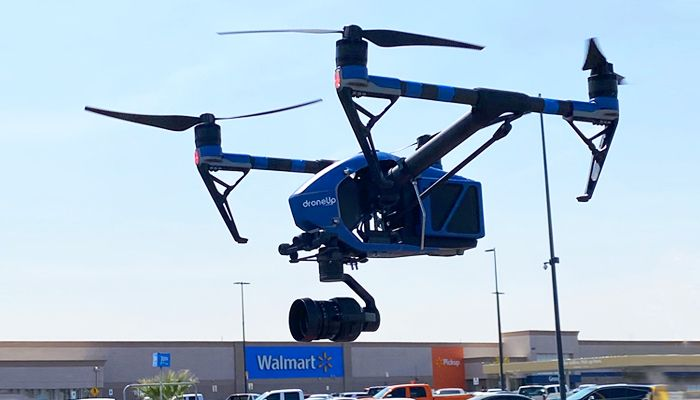 Walmart pilots drone delivery for COVID-19 tests