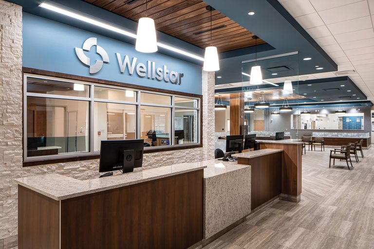 Wellstar Health System's new emergency department at Kennestone Hospital in Marietta, Ga.