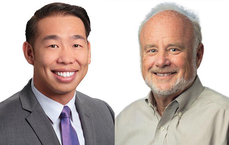 Mitchell Fong and Dr. Robert Berenson