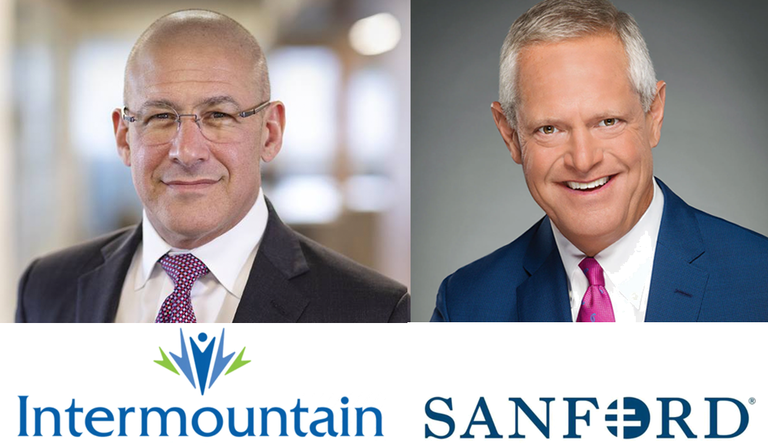 Intermountain, Sanford plan to merge into $15B system