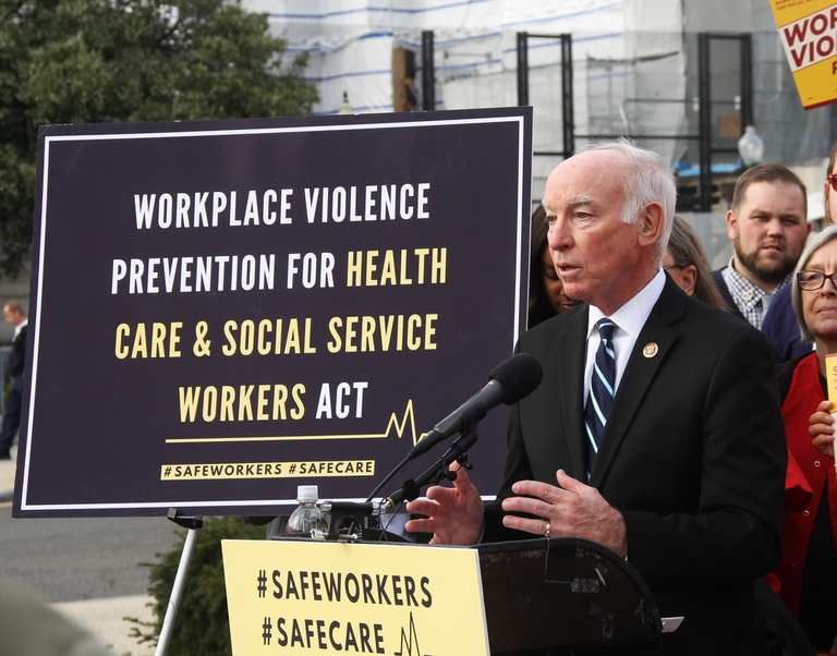 Taking legislative action to reduce workplace violence in healthcare