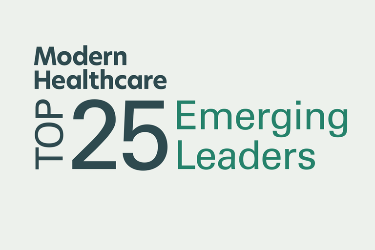 Modern Healthcare Top 25 Emerging Leaders