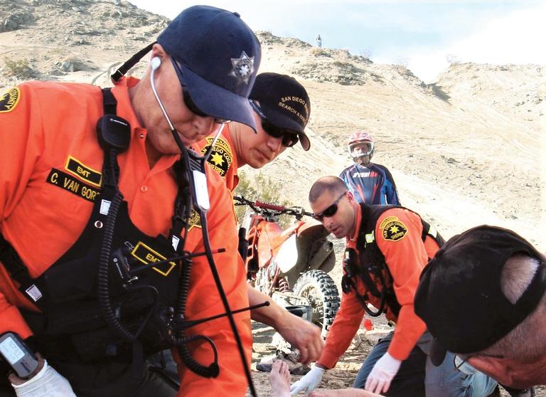 Van Gorder goes into EMT mode during inflight emergency