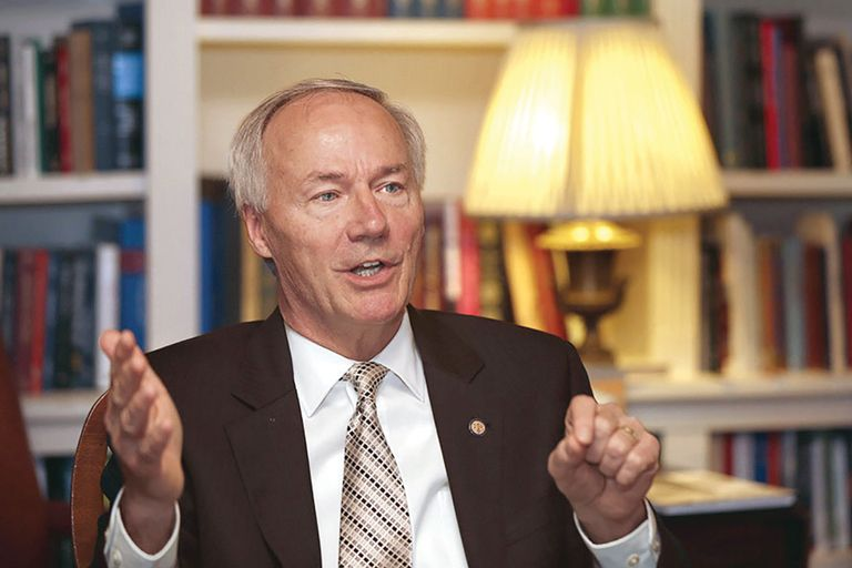Arkansas governor vetoes bill banning care for trans youth, citing doctors' concerns