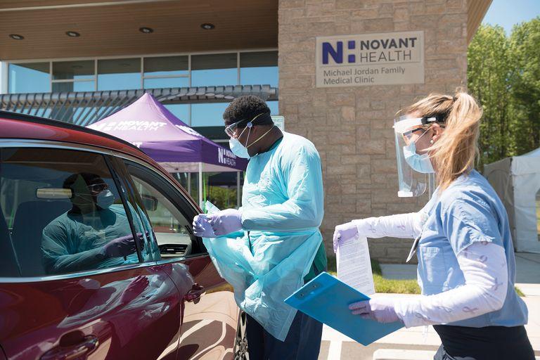 Novant mobile testing site