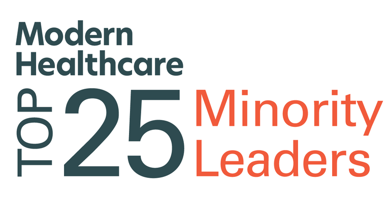 Modern Healthcare Top 25 Minority Leaders